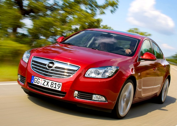 Opel Insignia Croatia March 2013