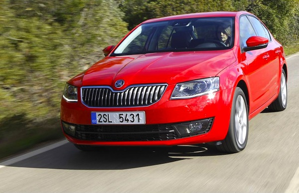 Skoda Octavia Romania June 2013