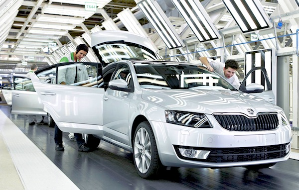 Skoda Octavia. Picture courtesy of Skoda
