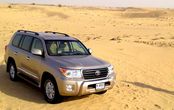 Toyota Land Cruiser Oman February 2013. Picture courtesy of Motoring Middle East