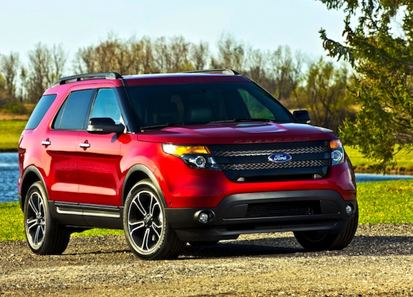 Ford Explorer USA April 2013
