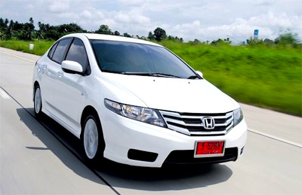 Honda City Thailand February 2013