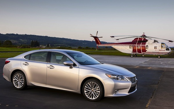 Lexus ES USA April 2013