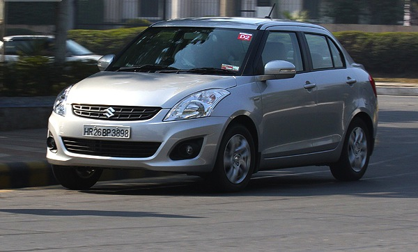 Maruti DZire India April 2013. Picture courtesy of Gaadi.com