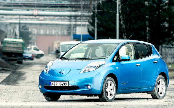 Nissan Leaf. Picture courtesy of don.vn.cz