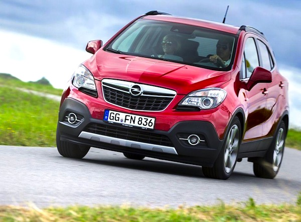 Opel Mokka Europe 2014