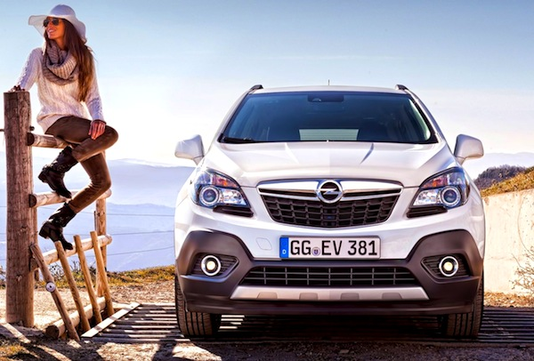 Opel Mokka. Picture courtesy of www.autowp.ru