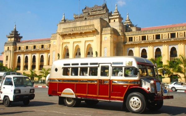 Chevrolet Bus in Myanmar