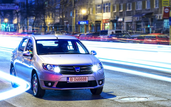 Dacia Logan. Picture courtesy of autoevolution.com