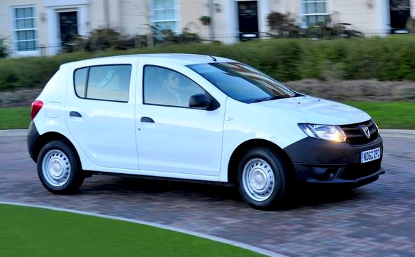 Dacia Sandero Ireland May 2013. Picture courtesy of mirror.co.uk