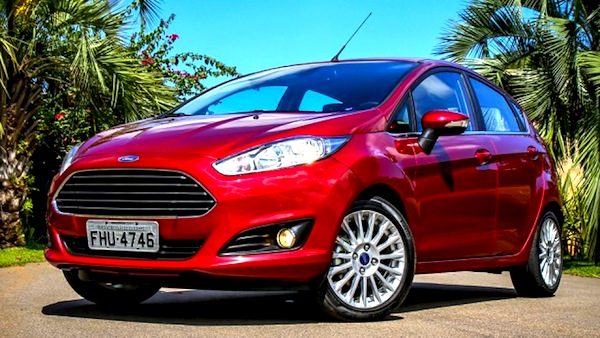Ford Fiesta Brazil July 2013. Picture courtesy of blogauto.com.br