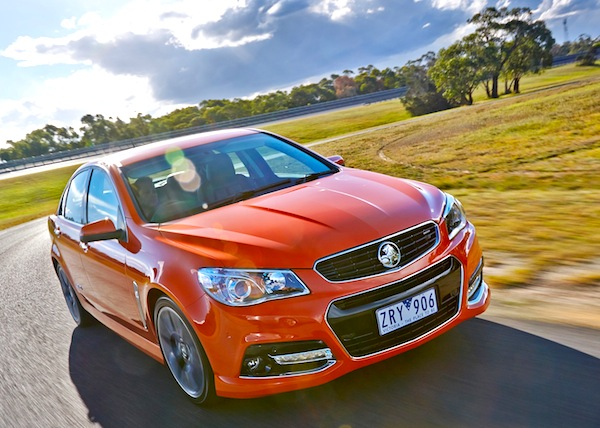 Holden Commodore Australia July 2013