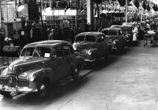 Holden factory 1950s