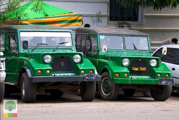 Mazda Pathfinder Burma1