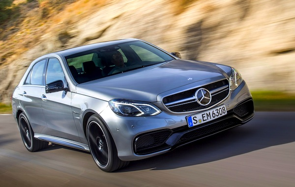 Mercedes E-Class Europe May 2013