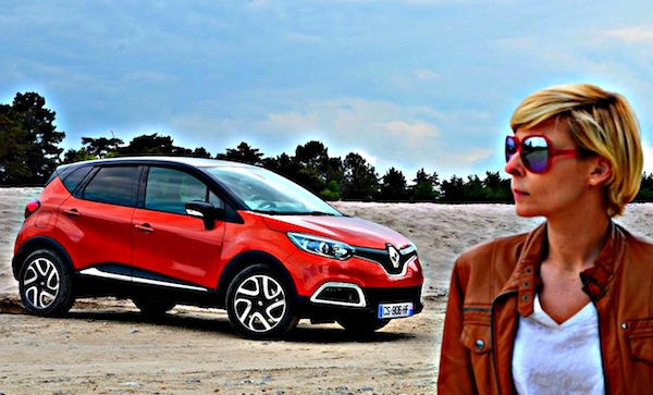 Renault Captur Bulgaria September 2013. Picture courtesy of La Revue Automobile