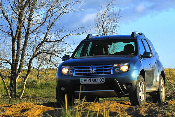 Renault Duster Kazakhstan May 2013. Picture courtesy of Illva Davidovich idphoto.kz