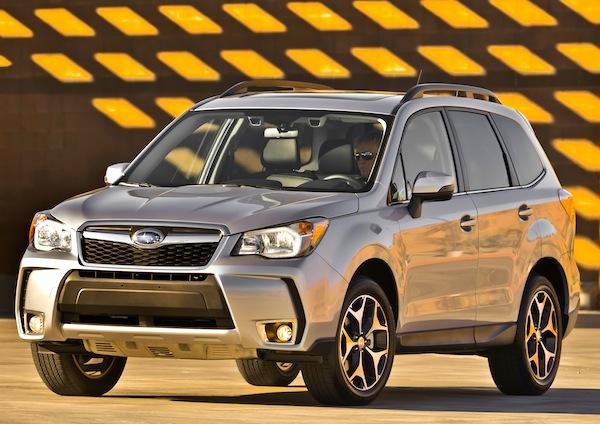 Subaru Forester USA May 2013