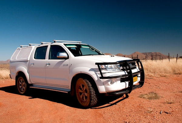 Toyota Hilux Namibia December 2012