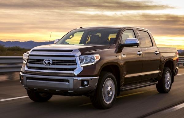 Toyota Tundra USA May 2013