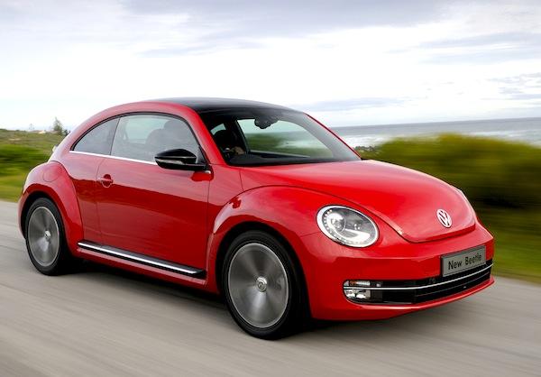 VW Beetle Germany May 2013