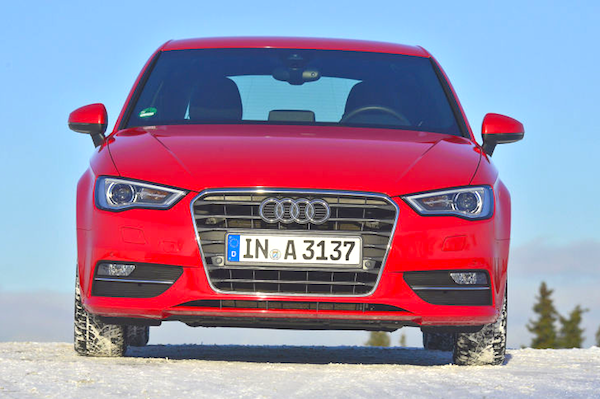 Audi A3 Belgium July 2013. Picture courtesy of Auto Bild