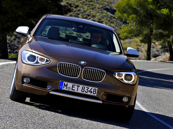 BMW 1 Series Germany June 2014