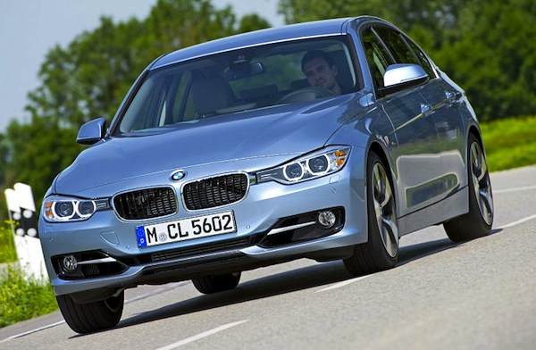 BMW 3 Series Europe July 2013. Picture courtesy of autobild.de