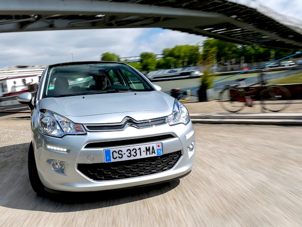 Citroen C3 Europe April 2014. Picture courtesy of L'Argus