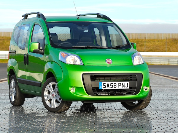 Fiat Qubo UK June 2013