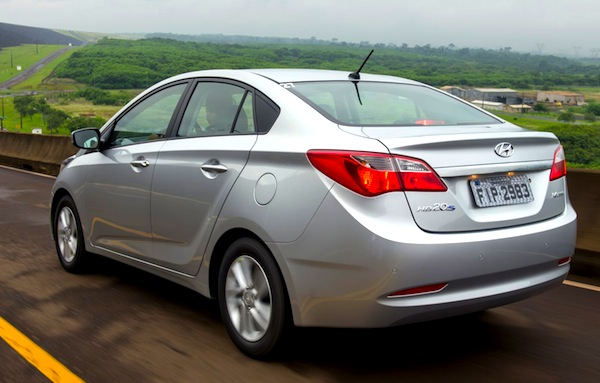 Hyundai HB20S Brazil June 2013