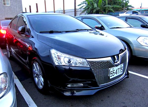 Luxgen 5 Sedan Taiwan June 2013