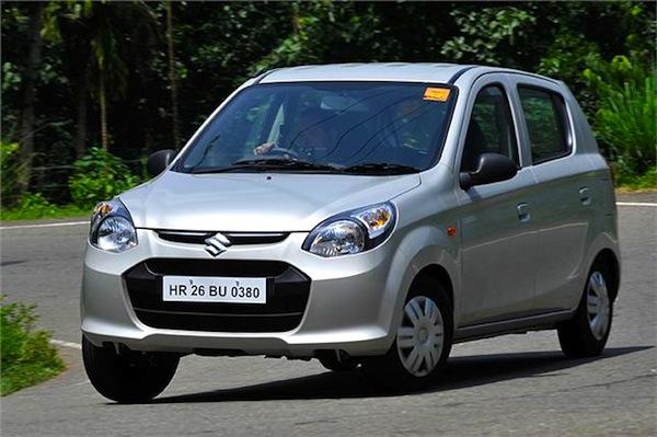 Suzuki Alto 800 Uruguay May 2014