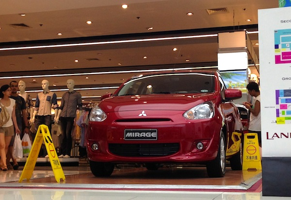 Mitsubishi Mirage Philippines June 2013