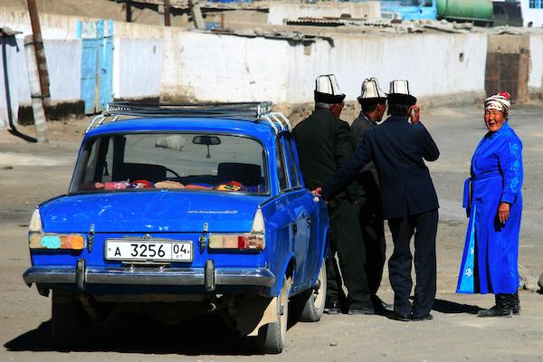 Murghab Tajikistan street scene