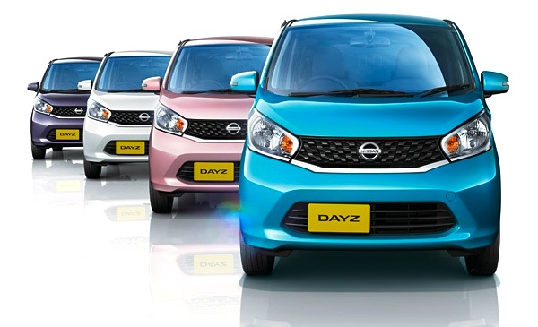 Nissan Dayz. Picture courtesy of Nissan