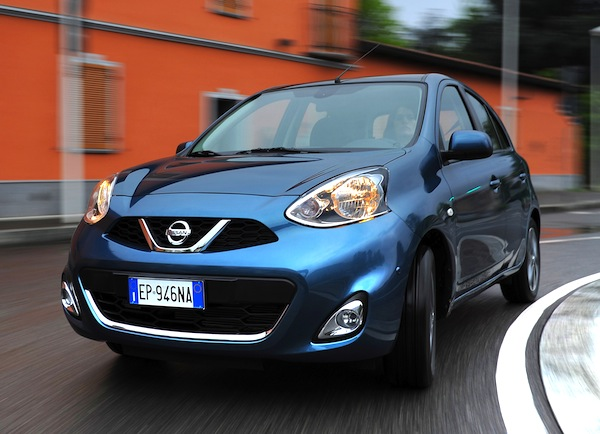 Nissan Micra Greece June 2013