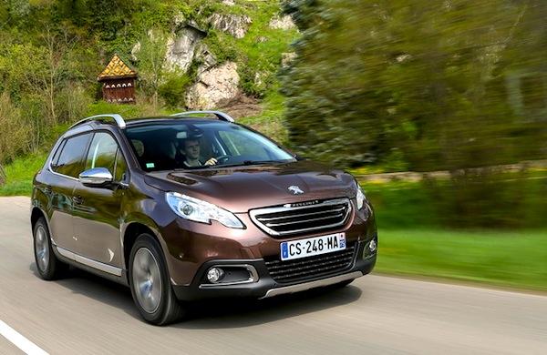 Peugeot 2008 Italy 2014