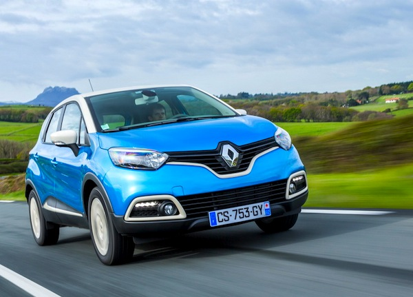 Renault Captur. Picture courtesy of Renault France