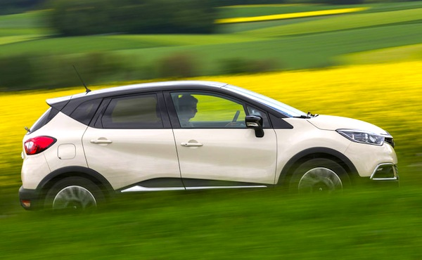Renault Captur Germany June 2014