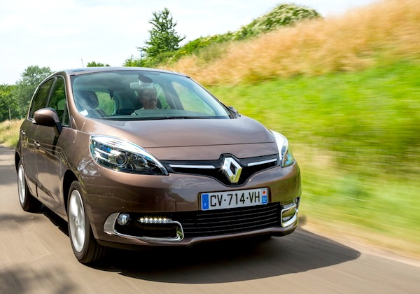 Renault Scénic France June 2014. Picture courtesy of largus,fr