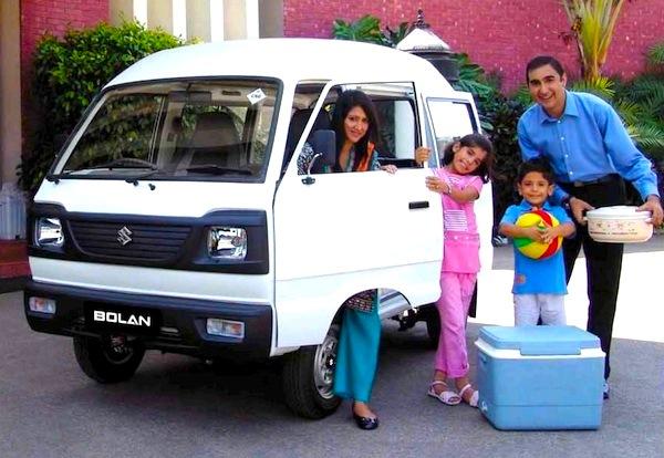 Suzuki Bolan Pakistan April 2015