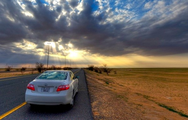 Toyota Camry Saudi Arabia by Imran Akram