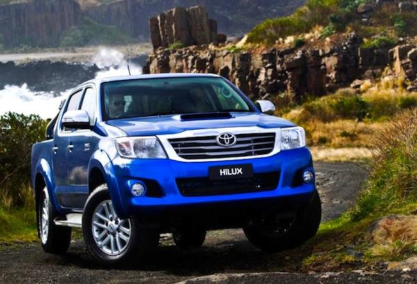 Toyota Hilux New Caledonia 2013