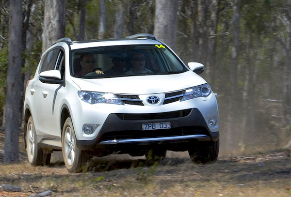 Toyota RAV4 Poland April 2014. Picture courtesy of The Motor Report
