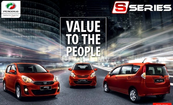Perodua S-Series Malaysia June 2013
