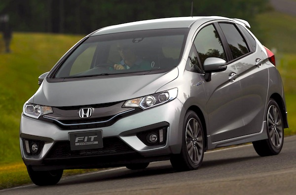2014 Honda Jazz Australia. Picture courtesy of themotorreport.com.au