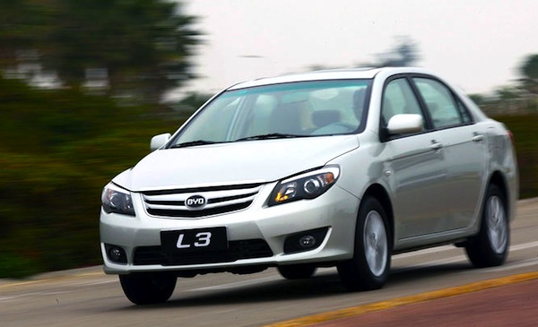 BYD L3 China July 2013. Picture courtesy if auto.sohu.com