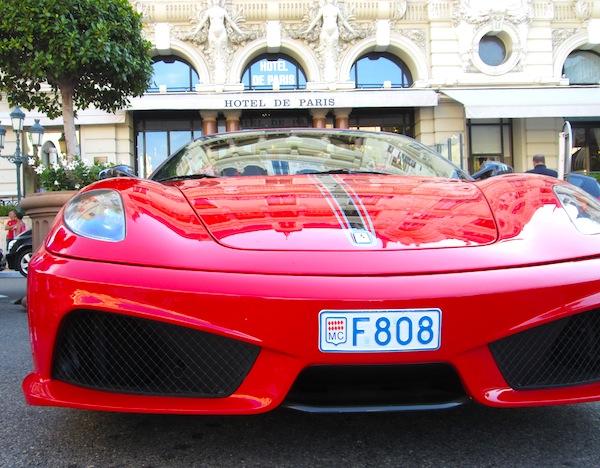 Ferrari F430 Scuderia Spider Monaco August 2013