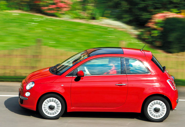 Fiat 500 Italy March 2014. Picture courtesy of www.autobild.de
